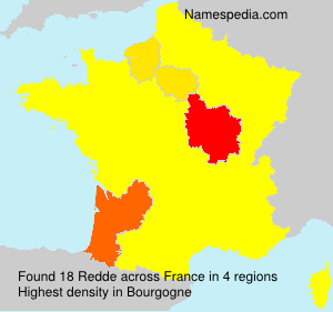 Surname Redde in France