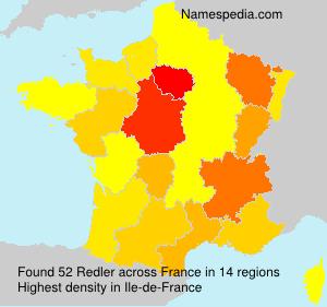 Surname Redler in France