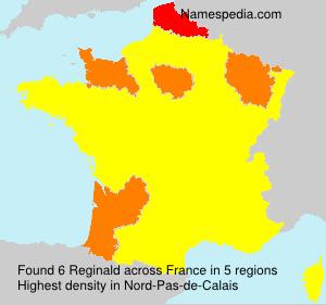 Surname Reginald in France
