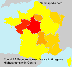 Surname Regnoux in France