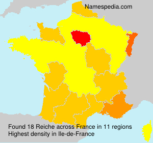 Surname Reiche in France