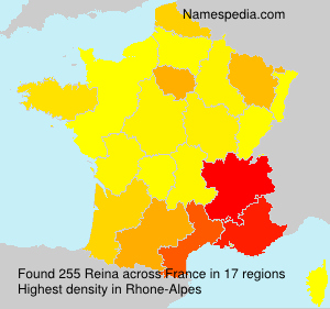 Surname Reina in France