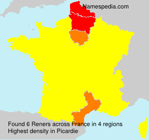 Surname Reners in France