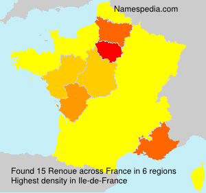 Surname Renoue in France