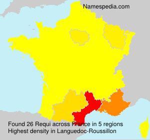 Familiennamen Requi - France