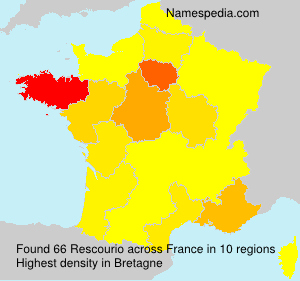 Surname Rescourio in France