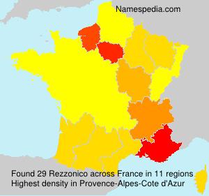 Familiennamen Rezzonico - France