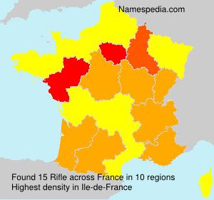 Familiennamen Rifle - France