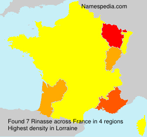 Surname Rinasse in France