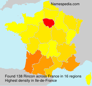 Surname Rincon in France