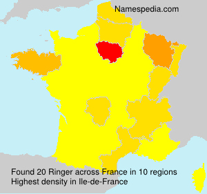 Surname Ringer in France
