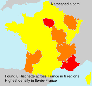 Surname Rischette in France