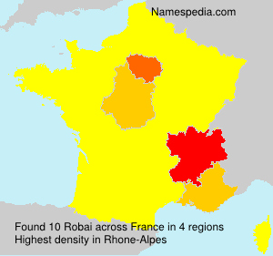 Surname Robai in France