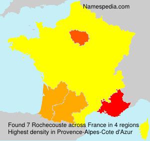 Surname Rochecouste in France