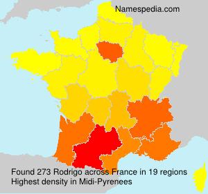 Surname Rodrigo in France
