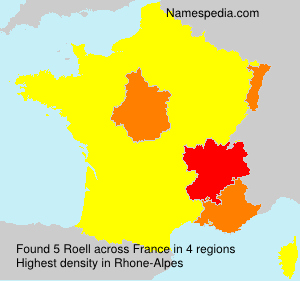 Surname Roell in France