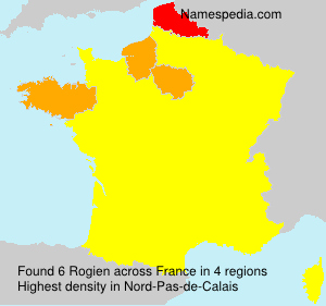 Surname Rogien in France
