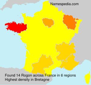 Surname Rogon in France