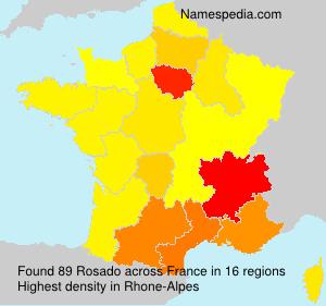 Surname Rosado in France