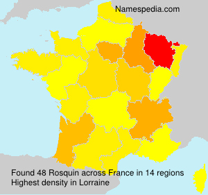 Surname Rosquin in France