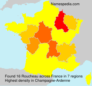 Surname Roucheau in France
