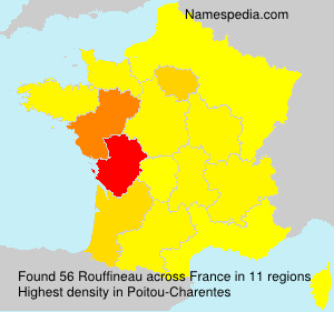 Surname Rouffineau in France