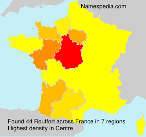 Surname Rouffort in France