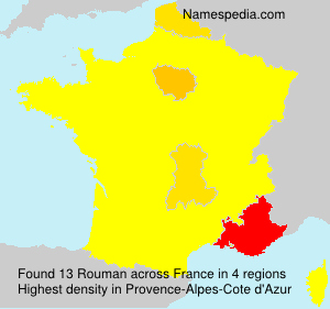 Surname Rouman in France