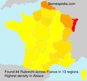 Surname Rubrecht in France
