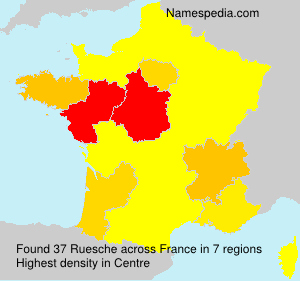 Surname Ruesche in France