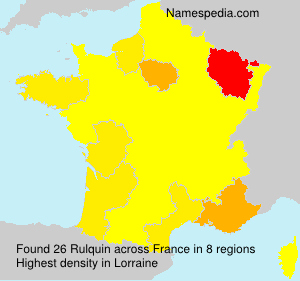 Surname Rulquin in France