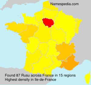Rusu - France