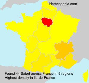 Sabet - France