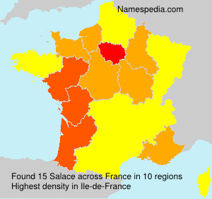 Surname Salace in France
