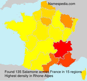 Surname Salamone in France