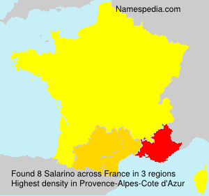 Surname Salarino in France