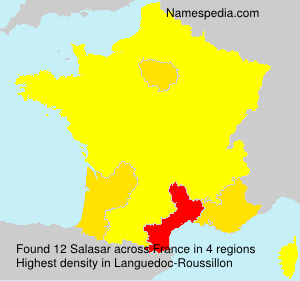 Surname Salasar in France