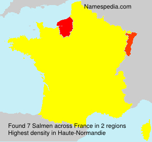 Surname Salmen in France