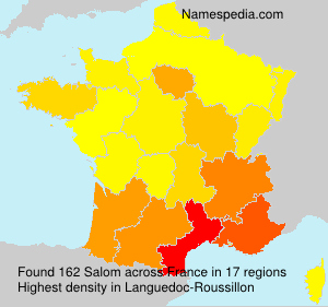 Surname Salom in France