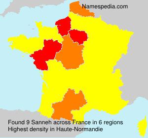 Familiennamen Sanneh - France