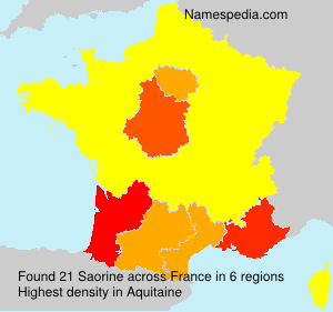 Saorine - France