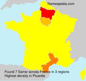 Sarrar - France