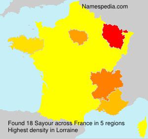 Sayour - France