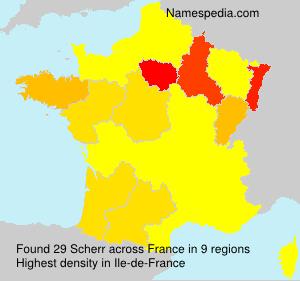 Scherr - France