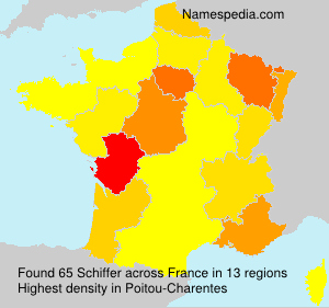 Surname Schiffer in France