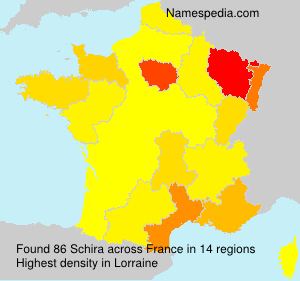 Surname Schira in France
