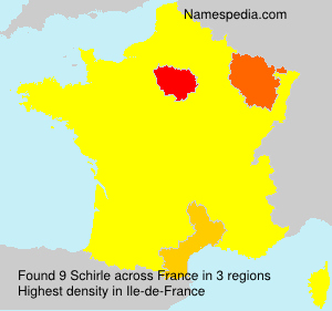 Surname Schirle in France