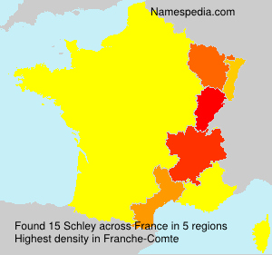Surname Schley in France