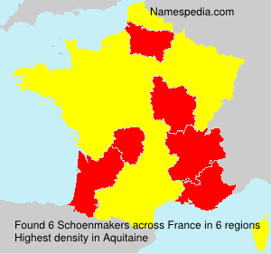 Surname Schoenmakers in France