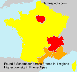 Surname Schomaker in France